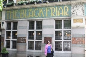 16Carol outside of the Blackfriars