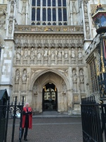 1West Entrance to Westminster Abbey