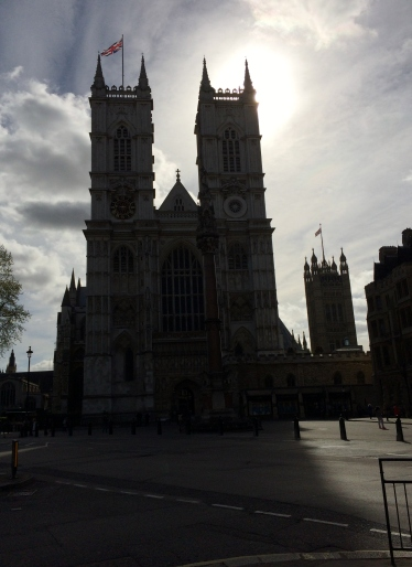 2Westminster Abbey in Morning Light