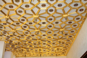 Ceiling in the Great Watching Chamber (where petitioners would wait for an audience with Henry)