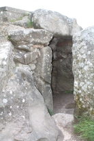 Entrance into the chamber