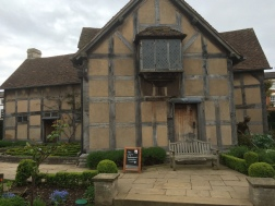 Rear of Shakespeare's house