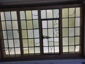 Original windows from the house