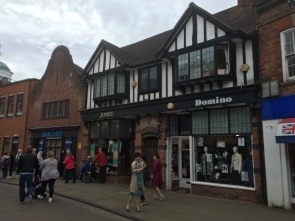 Tudor buildings in Stratford