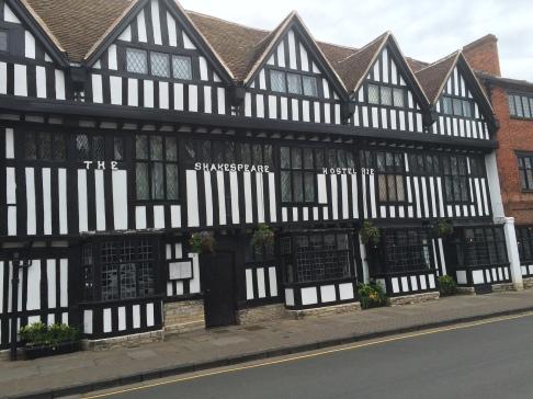 Tudor style buildings