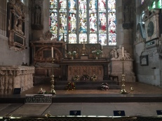 Altar and Shakespeare graves