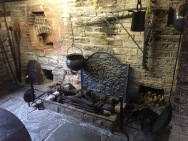 Hearth in the cottage