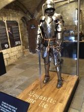 Replica of Richard III armor