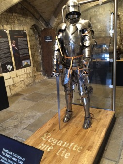 Replica of Richard III armor