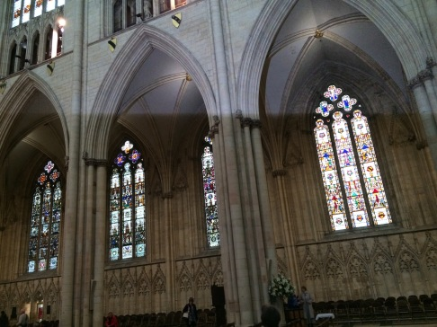 York Minster - windows in the Nave