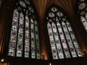 York Minster - Windows in the Chapter House