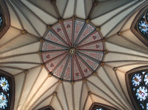 York Minster - Chapter house ceiling