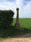 Memorial Cross at Towton Battlefield.