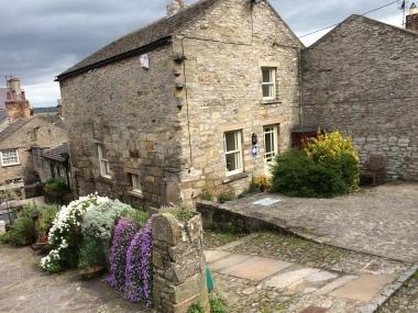 Middleham village.