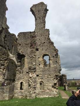 Middleham Castle - looking towards what used to be the chapel.