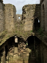 What used to be the Great Hall.