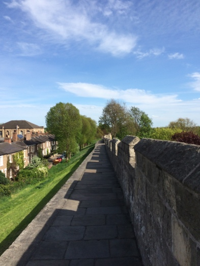 Walking the city walls