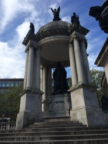 Queen Victoria statue on former site of Liverpool castle