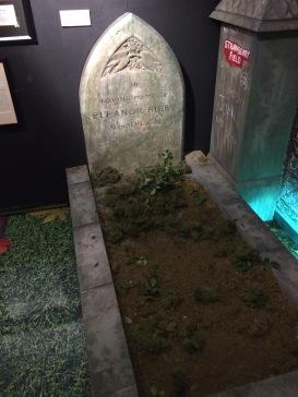 Replica of Eleanor Rigby's grave
