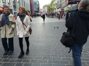 Walking through Liverpool One