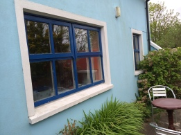 Front window of the cottage.