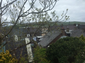 View from front bedroom, looking towards town