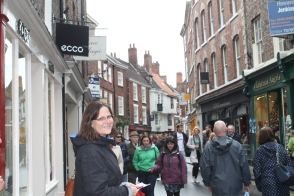 Walking through the Shambles