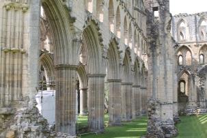 Rievaulx Abbey - Windows along the choir