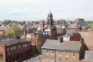 View of the City from Clifford's Tower