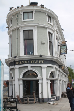 The Baltic Fleet -- where we stopped for a pint