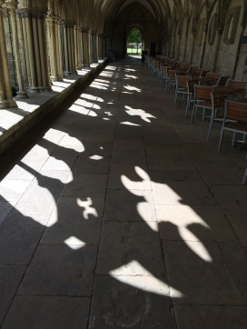 Light and shadows through the arches