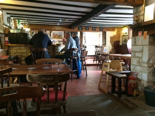 Lunch at the Fox and Hound