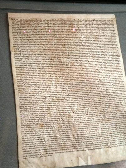 Magna Carta --copy from 1215