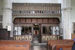Nave inside church