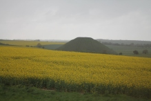 Silbury Hill viewed from West Kennet