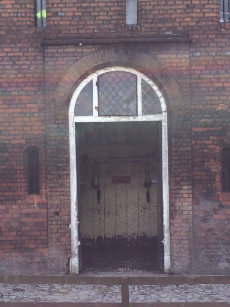 Stables from the Tudor era. Still in use.
