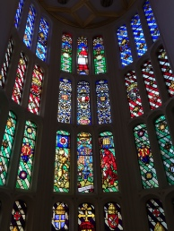 Stained Glass in the Watchers Hall