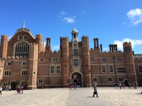 The Base Court and Anne Boleyn's Gate
