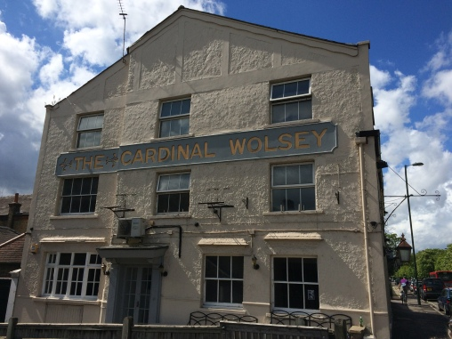 The Cardinal Wolsey where we had Sunday Roast