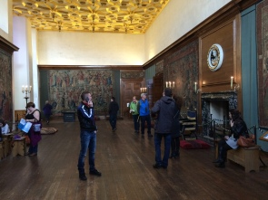 The Watchers Hall where petitioners waited for an audience with Henry