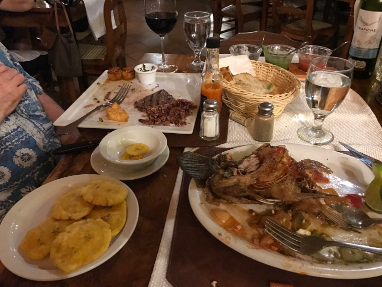 First night dinner in Granada at El Zaguan. Delicious!