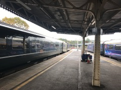 Arriving Temple Meads