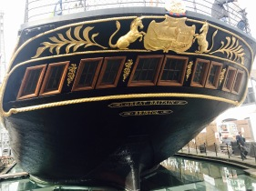 SS Great Britain - Stern