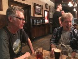 Harry Blackburn and Glenn Codere