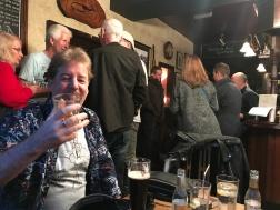 Glenn appreciating a fine Scotch