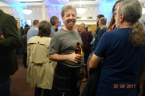 Glenn in his kilt (Photo credit: Spike Worsley.