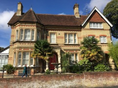 The Giffard House. Our lovely home for three days. B&B in a Victorian era house.