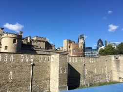 Tower of London from the back.