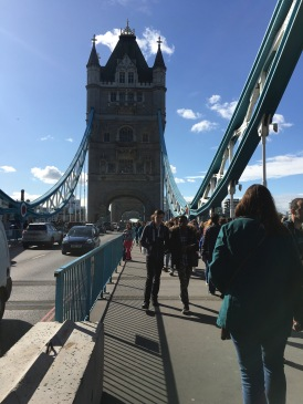 Crossing Tower Bridge