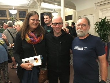 With David Longdon (Photo credit: Michael Heller)